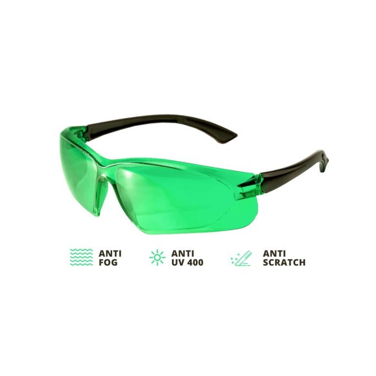Laser glasses ADA VISOR GREEN