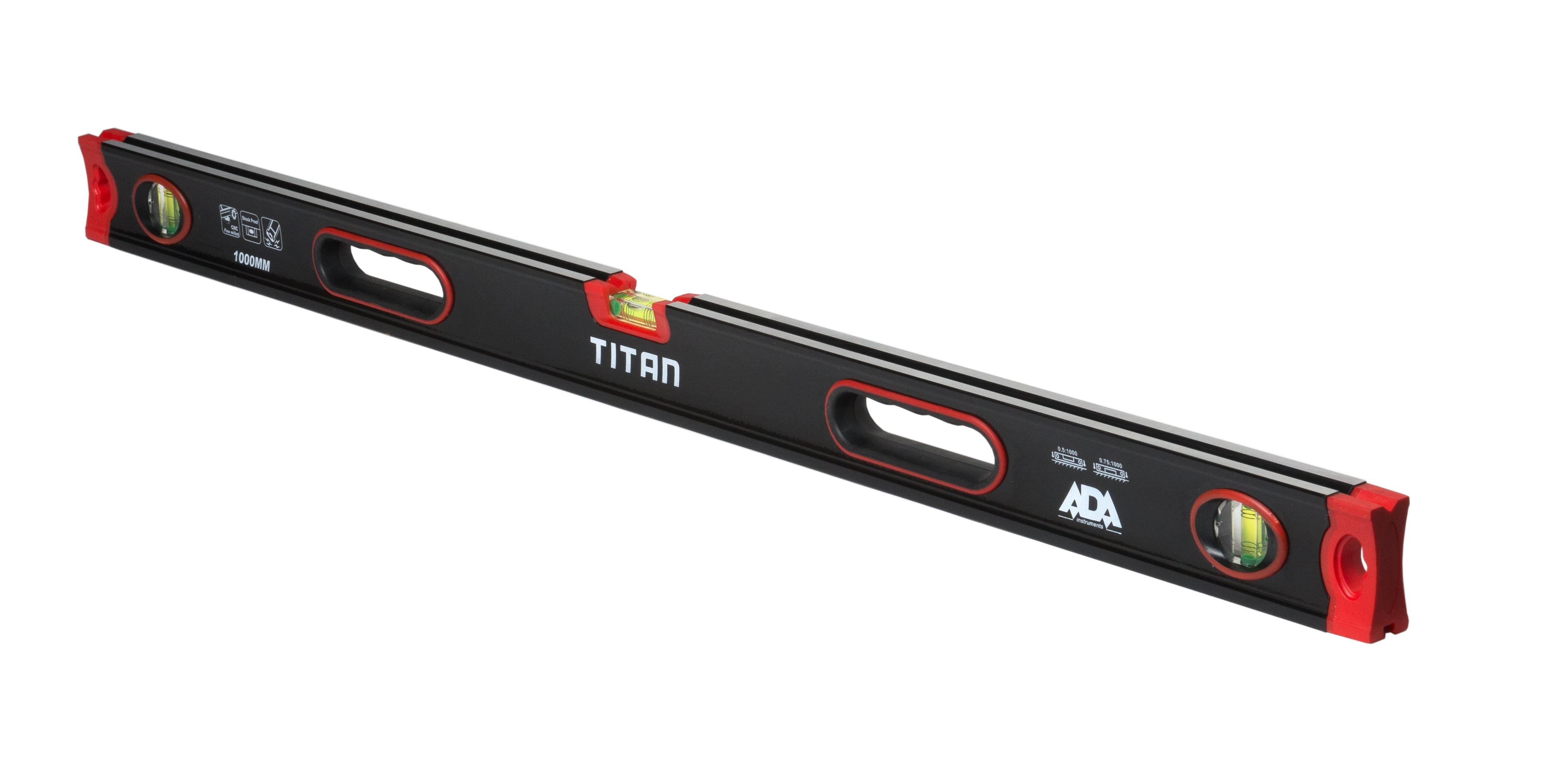 Противоударный строительный уровень ADA TITAN 1000