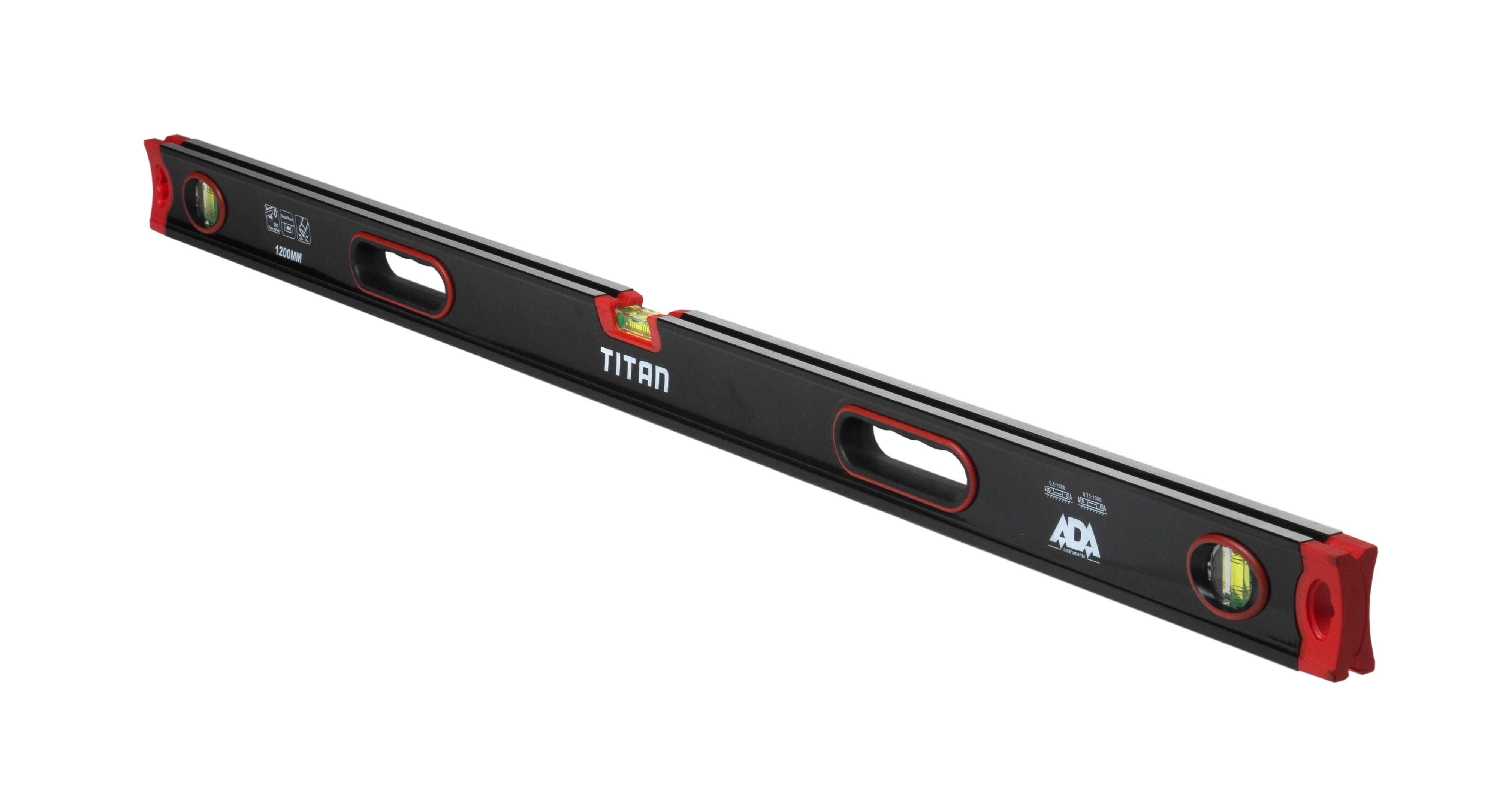Противоударный строительный уровень ADA TITAN 1200
