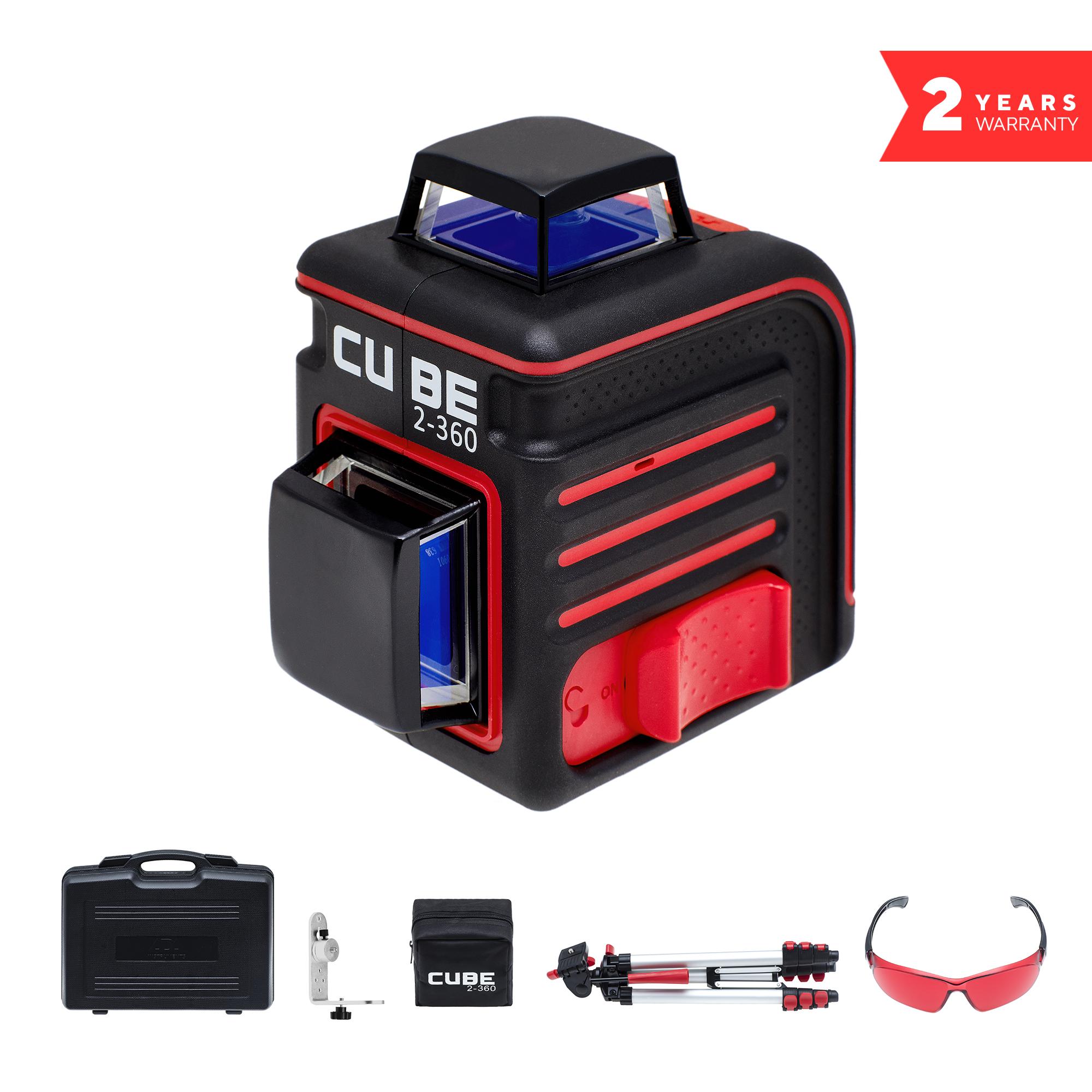 Лазерный уровень ADA CUBE 2-360 ULTIMATE EDITION