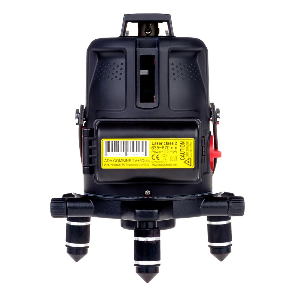 Нивелир ADA Instruments Combine 4V+6Dots - фото 2