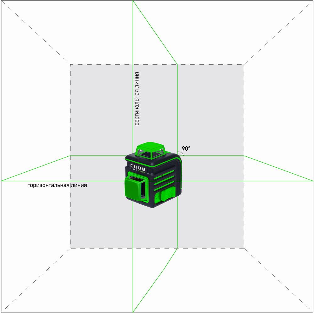 Laser Level Ada Cube 2 360 Green Ada Instruments