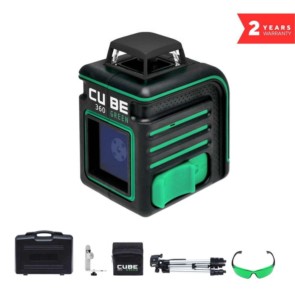 Laser level ADA CUBE 360 Green
