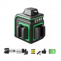 Line laser ADA CUBE 360 2V GREEN PROFESSIONAL EDITION