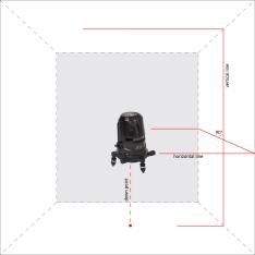 Лазерный уровень ADA 2D Basic Level (Фото 3)