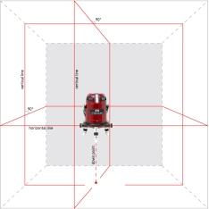 Лазерный уровень (нивелир) 6D SERVOLINER (4V4H1D) (Фото 2)