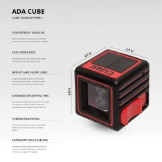 Laser level ADA CUBE BASIC EDITION (Picture 10)