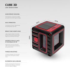Laser level ADA CUBE 3D ULTIMATE EDITION (Picture 10)