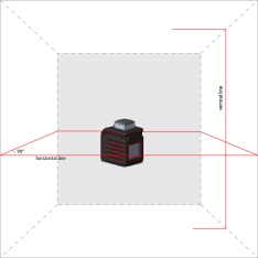 Laser Level ADA CUBE 360 HOME EDITION (Picture 1)