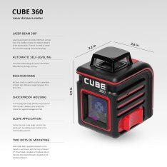 Laser Level ADA CUBE 360 HOME EDITION (Picture 10)
