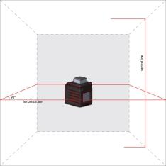 Лазерный уровень (нивелир) ADA CUBE 360 PROFESSIONAL EDITION (Фото 1)