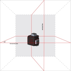 Laser Lavel ADA CUBE 2-360 ULTIMATE EDITION (Picture 1)