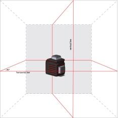Лазерный уровень (нивелир) ADA CUBE 2-360 HOME EDITION (Фото 1)