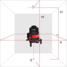 Laser Level ADA ULTRALiner 360 2V (Picture 1)