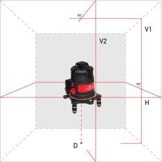 Лазерный уровень (нивелир) ADA ULTRALiner 360 2V (Фото 1)