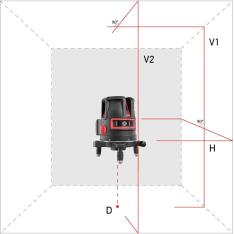 Laser level ADA PROLiner 2V (Picture 1)
