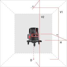Лазерный уровень (нивелир) ADA PROLiner 2V (Фото 1)