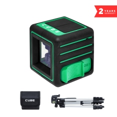 Лазерный нивелир ADA CUBE 3D GREEN PROFESSIONAL EDITION